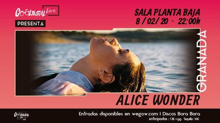 Alice Wonder en Granada