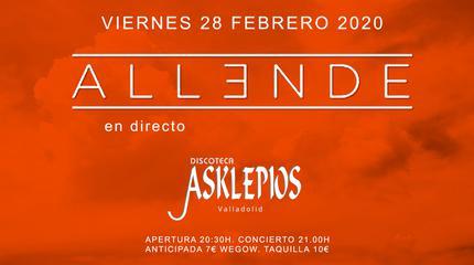 ALLENDE concert in Valladolid