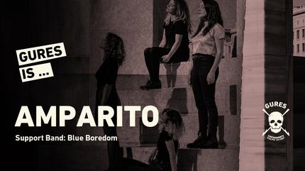 Amparito + Blue Boredom en Madrid | Gures is on tour