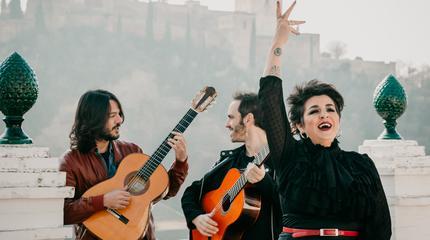 Concierto de Amparo Sánchez en Cádiz 2020