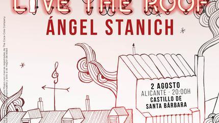 Ángel Stanich en LIVE THE ROOF | Alicante