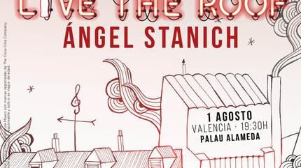 Ángel Stanich en LIVE THE ROOF | Valencia