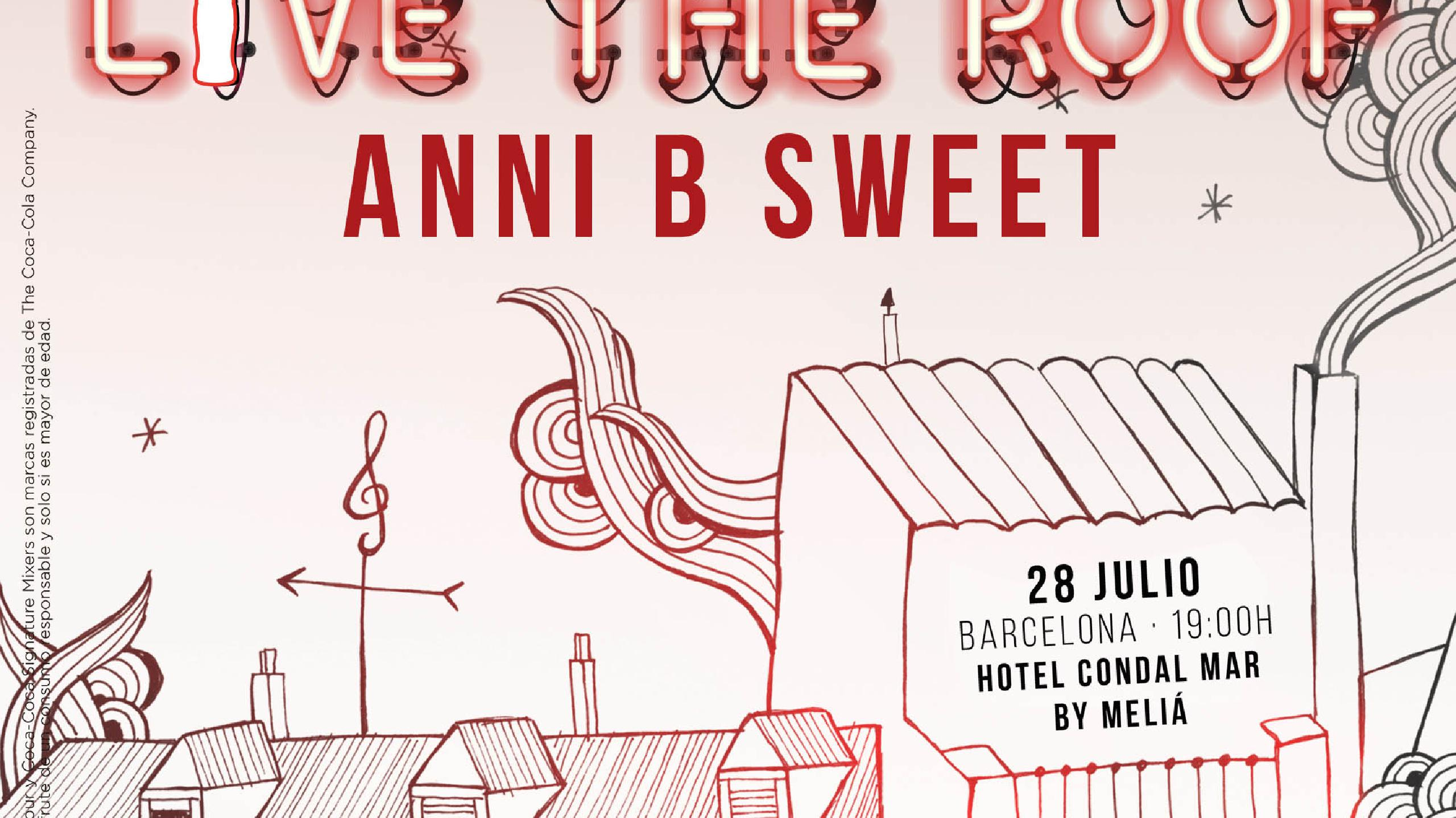 Anni B Sweet Concert Tickets For Hotel Condal Mar By Meliá