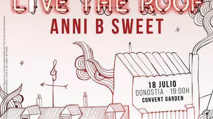 Anni B Sweet en LIVE THE ROOF | Donostia (Acústico)