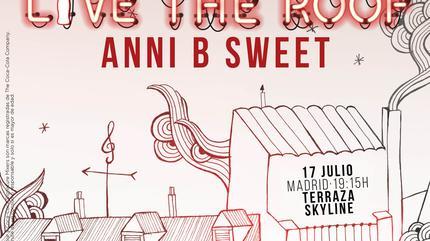 Anni B Sweet en LIVE THE ROOF | Madrid (Acústico)