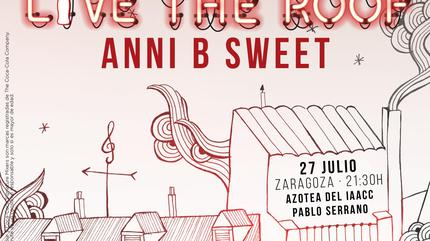 Anni B Sweet en LIVE THE ROOF | Zaragoza (Acústico)