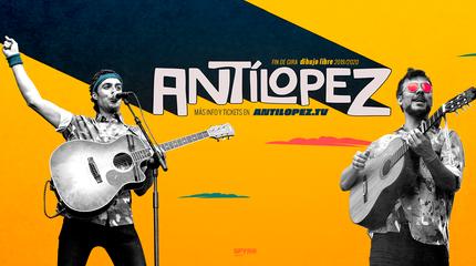 Antílopez concert in Santander