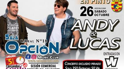 Andy Y Lucas en Sala Opción Pinto - Madrid