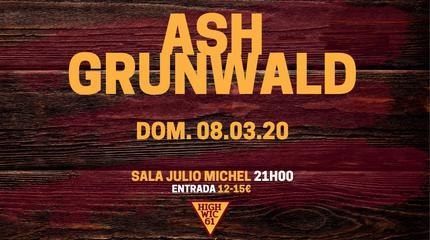 Ash Grunwald concert in Segovia