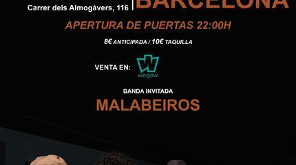Atraco en Barcelona con Malabeiros - Rock Sound