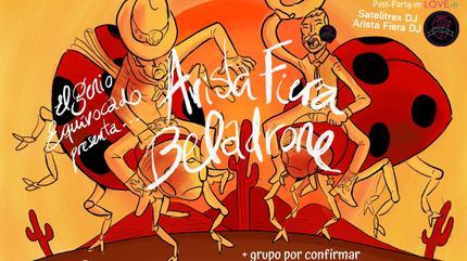 Beladrone + Arista Fiera en concierto, Sala X (Sevilla)