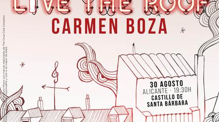 Carmen Boza en LIVE THE ROOF | Alicante