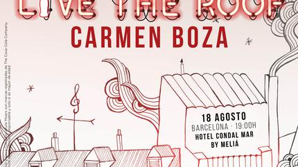 Carmen Boza en LIVE THE ROOF | Barcelona
