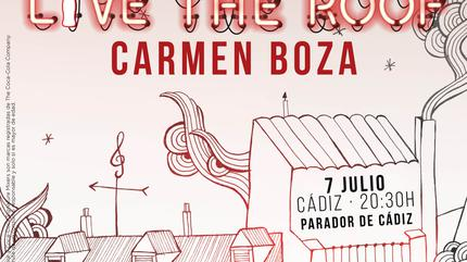 Carmen Boza en LIVE THE ROOF | Cádiz