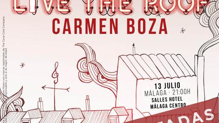 Carmen Boza en LIVE THE ROOF | Málaga