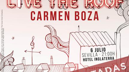 Carmen Boza en LIVE THE ROOF | Sevilla