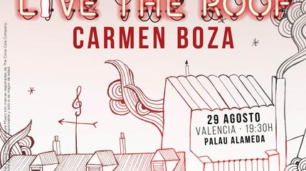 Carmen Boza en LIVE THE ROOF | Valencia