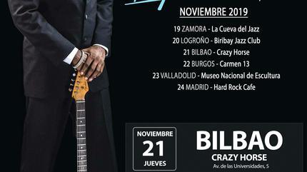 Carvin Jones en Bilbao