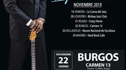 Carvin Jones en Burgos