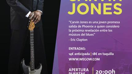 Carvin Jones en Madrid