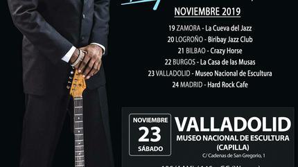 Carvin Jones en Valladolid