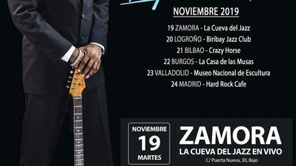 Carvin Jones en Zamora