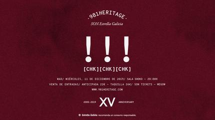!!! (chk chk chk) en Madrid   981heritage