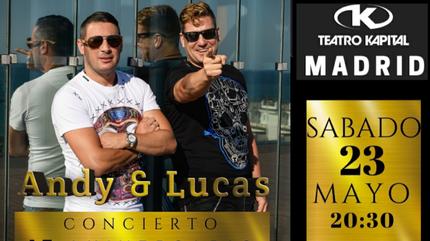 Concierto Andy & Lucas Madrid - 17 aniversario