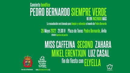 Concierto Benéfico Pedro Bernardo Siempre Verde