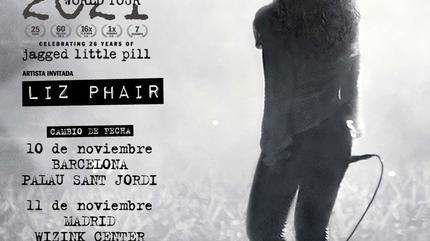 Alanis Morissette + Liz Phair concert in Madrid