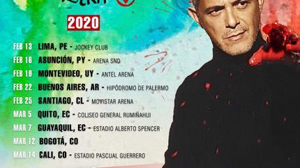 Concierto de Alejandro Sanz en Lima
