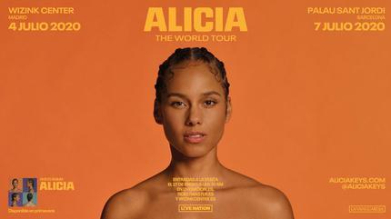 Concierto de Alicia Keys en Barcelona