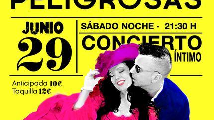 Concierto de Amistades Peligrosas en Madrid