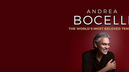 Concierto de Andrea Bocelli en Viena