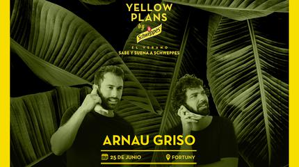 Concierto de Arnau Griso en Yellow Plans by Schweppes 2019