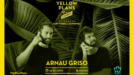 Concierto de Arnau Griso en Yellow Plans by Schweppes 2019