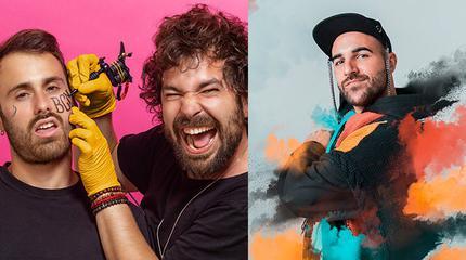 Concierto de Arnau Griso + Nil Moliner en Porta Ferrada 2020