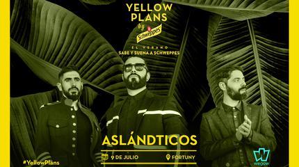 Concierto de Aslándticos en Yellow Plans by Schweppes 2019