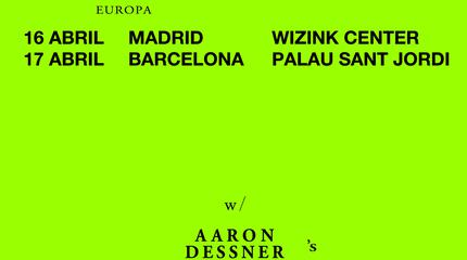 Concierto de Bon Iver en Barcelona