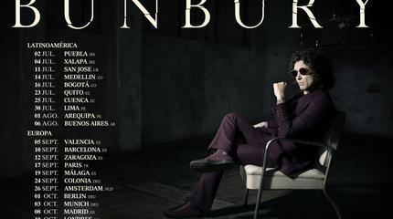 Concierto de Bunbury en Málaga
