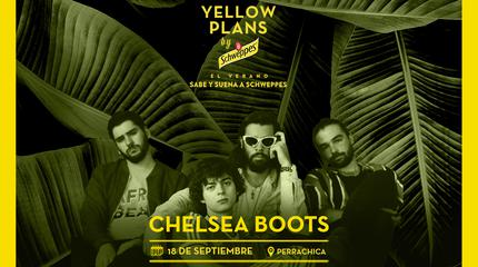 Concierto de Chelsea Boots en Yellow Plans by Schweppes 2019
