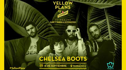Concierto de Chelsea Boots en Yellow Plans by Schweppes 2019