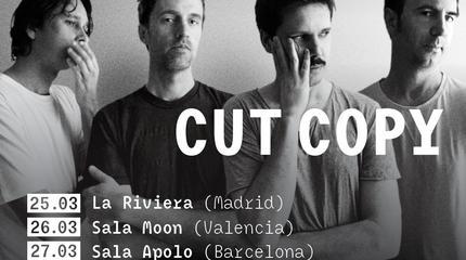 Cut Copy concerto em Barcelona