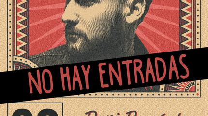 Dani Fernández concert in Huesca