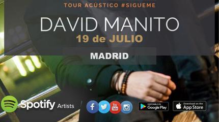 Concierto de David Manito en Sala Fulanita de Tal - Madrid