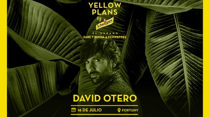 Concierto de David Otero en Yellow Plans by Schweppes 2019