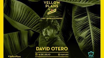 Concierto de David Otero en Yellow Plans by Schweppes 2019