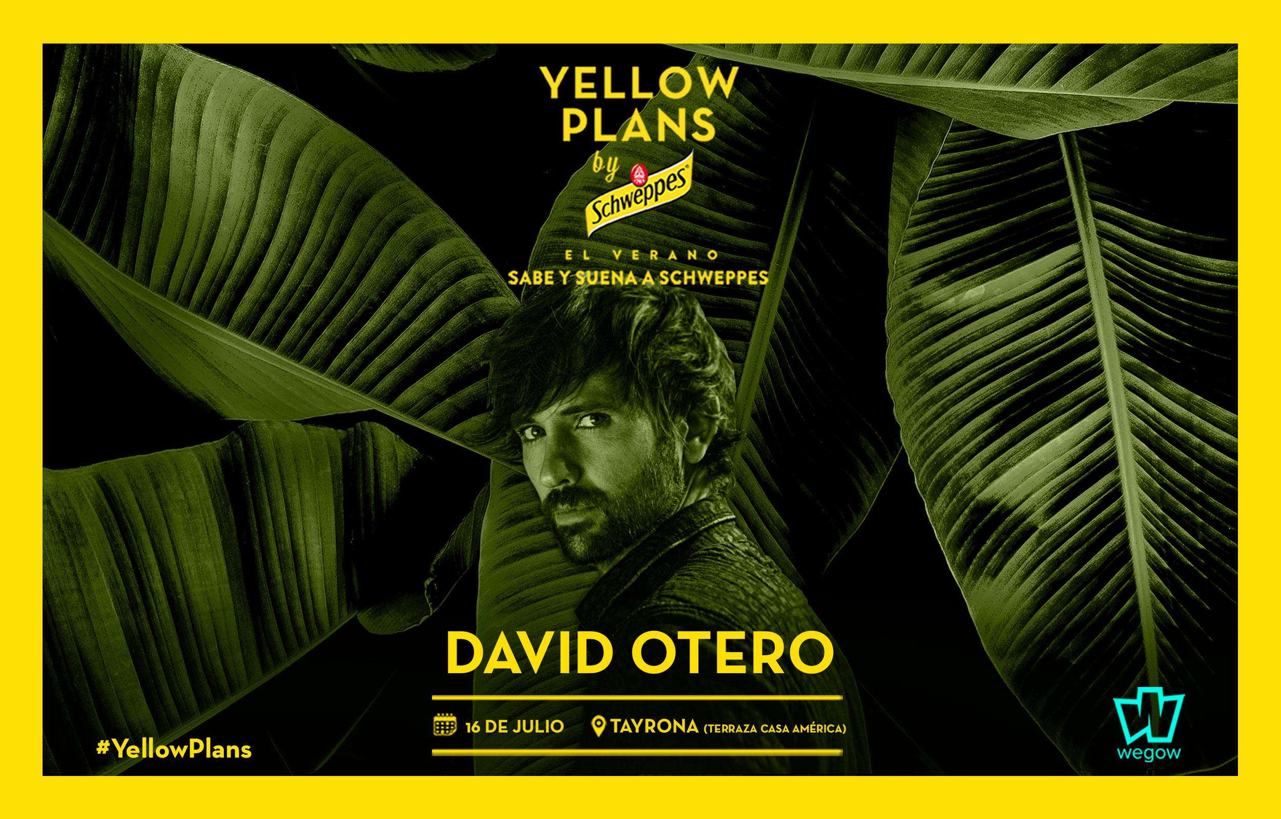 David Otero Concert Tickets For Tayrona Madrid Tuesday 16
