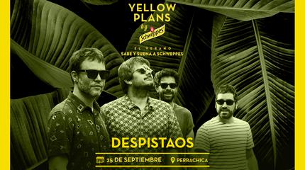 Concierto de Despistaos en Yellow Plans by Schweppes 2019