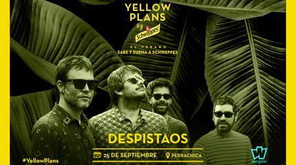 Concierto de Despistaos en Yellow Plans by Schweppes 2019